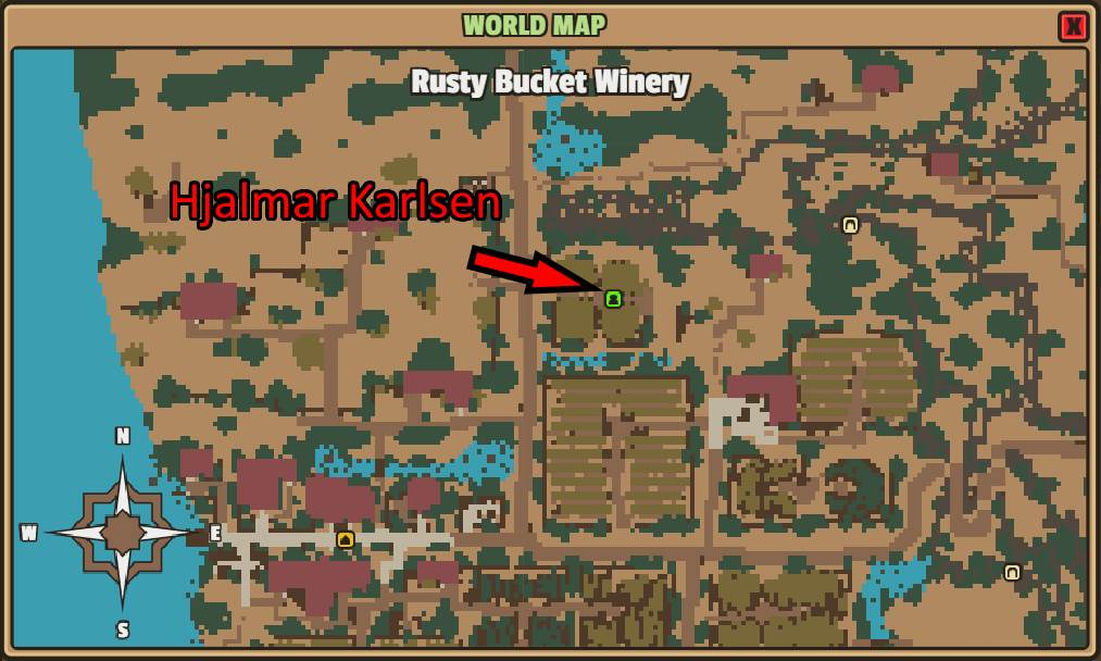 Talk to Hjalmar Karlsen at the Rusty Bucket Winery in Farshore 0c9d1e6afb8ff